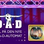 Vind Jackpot på ny D-A-D maskine hos Danske Spil