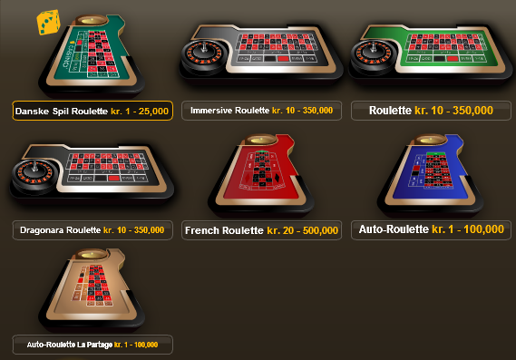 Live Roulette Danske Spil : Online casinos