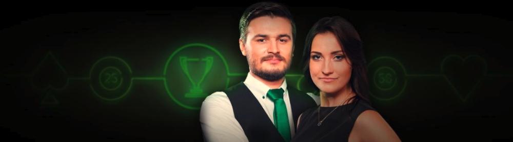 Vind 100.000 kroner hos Unibets live casino